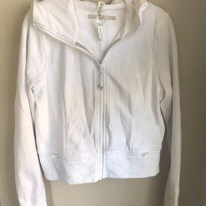 Lululemon jacket size 8. White excellent condition